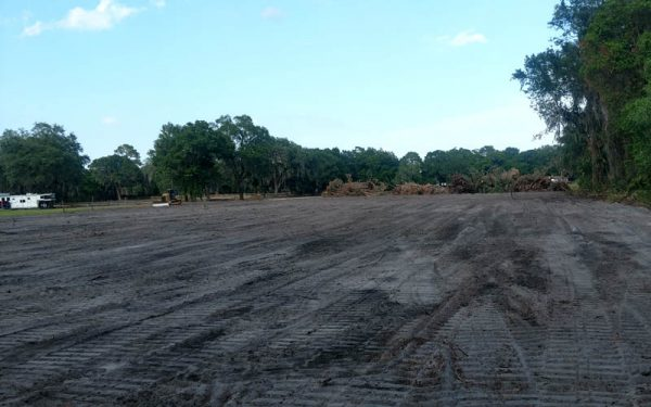 land grading company st. augustine fl